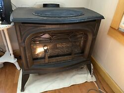 Vermont Castings Cast-iron Stove - Radiance Line - Propane/natural Gas 1995
