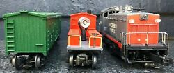 Lionel Southern Party Pacific Southern Diesel Switcher 6-18503, 19236,19707 Lot