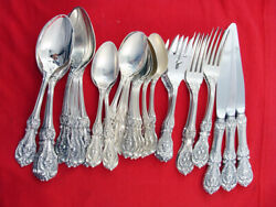 Francis I By Reed And Barton Sterling Silver Lot Of 30 Pieces No Mono