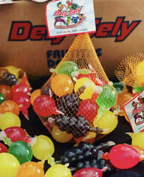 Tik Tok Jelly Fruit Dely Gely Candy Large Bag Fast Free Shipping 25 Pieces