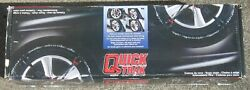 Quality Chain Corp Quick Trak 215 Auto-installing Tire Chains Italy New In Box