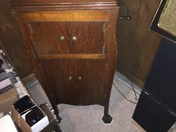 Antique Rca Victor Talking Machine Victrola Wind Up Record Player Phonograph