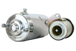 Chrome Starter Fit And Solenoid Harley Davidson Low Rider Fxs 74ci 1980 7143-77a