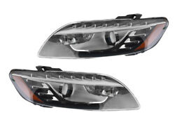 New Pair Of Oem Tri-xenon Cornering Headlight Fits Audi Q7 10 3.6 4l0941030al