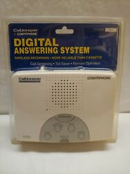 New Conairphone Call Keeper Digital Answering Machine System Tapeless Recording