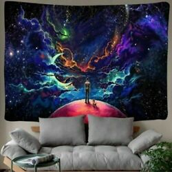 USA Ship Psychedelic Starry Sky Tapestry Art Wall Hanging Tapestries Home Decor