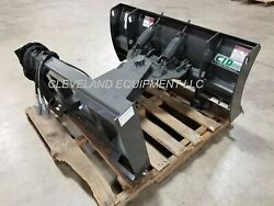New 60 Mini Skid Steer Snow Plow Blade Attachment Dingo Ditch Witch Vermeer 5and039