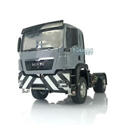 Lesu Man Tgs 42 Rc Tractor Truck Metal 1/14 Chassis Model Motor Painted Cabin