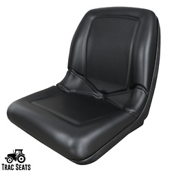 Black Flip Up Seat For John Deere 650 750 850 950 1050 900ch Tractor Ch16115