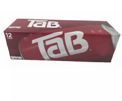 One 12-pack Of Tab Cola Soda 12oz Cans New Unopened, In Hand Free Shipping