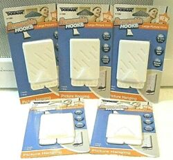 5 Dorman Large Removable Picture Hooks Each Holds 7½ lbs ***SHIPS FREE***