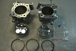 Ducati 848 Cylinders + Pistons With Piston Rings Set 12021521b +12021531