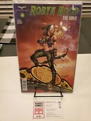 Zenescope Grimm Fairy Tales Presents Robyn Hood The Curse 4 Cover A Variant