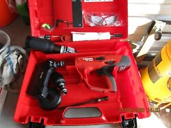 Hilti Dx 460 Powder Actuated Tool Kit With Mx 72 And X-460-f8 Brand New.962