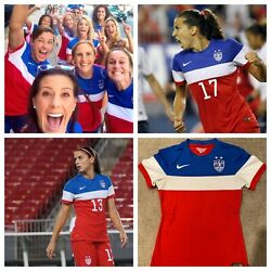 Nike Usa Soccer Jersey - Player Issue Uswnt Usmnt Us Bomb Pop Fifa World Cup Xs