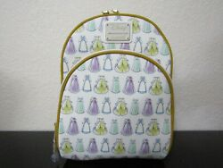 Loungefly Disney Beauty And The Beast Dresses Mini Backpack New With Tags