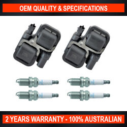 Swan Ignition Coil And Ngk Spark Plug Pack For Mercedes A150 A170 A200 B180 B200