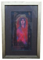 Suzi Druley Our Vision Is Clear Acrylic And Pencil Native American Painting 16
