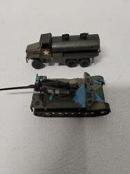 Roco Military Models Lot Of 2 Ho Scale Made In Austria