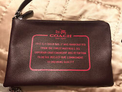 Lot Of 7 Coach Wristlets All Sizes *READ* $84.00