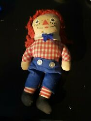 Vintage 6 Inch Raggedy Andy Doll Knickerbockers Small Tear Behind Left Arm