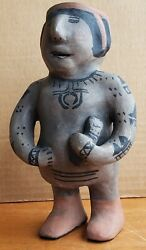 Old Native American Indian Male Storyteller Father Man Cochiti Pueblo Pottery