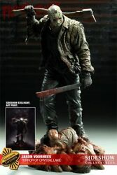 Friday The13th Jason Voorhees Terror Of Crystal Lake Sideshow Exclusive Statue