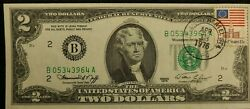 1976 2 Frn First Day Of Issue Stamp Buffalo Hertel Sta Uncirculated