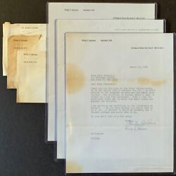 3 Philip Johnson Letters From 1956