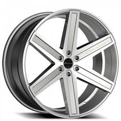 4 26 Giovanna Wheels Dramuno-6 Silver Machined Rims Fit 5lugs