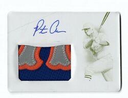Pete Alonso 2019 Panini National Treasures On Card Auto Patch Printing Plate 1/1