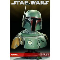 Star Wars 11 Boba Fett Sideshow Collectibles Life Size 93 Of 1000 Rare