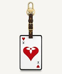Louis Vuitton Game On Lv Playing Card Luggage Tag Monogram 2021 Sold Out Nwt