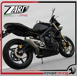 Zard Conical Racing Full Exhaust System For Triumph Street Triple 675/r 2007 07