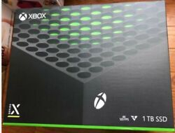 New Microsoft Xbox Series X 1tb Video Game Console Free Shipping