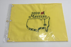 2020 Masters Golf Flag Embroidered Pin Flag Augusta National Brand New Authentic
