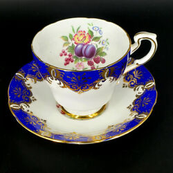 Paragon Bone China Cup And Saucer By Appointment To Her Majesty The Queen C.1957