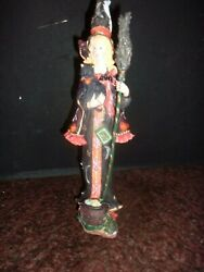 Lenox Bewitching Beauty Witch Pencil Halloween Cat Figurine New In Box
