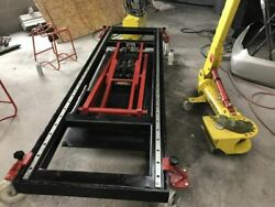 Car Bench Auto Body Frame Machine 10 Tone With Tools Made In Italy