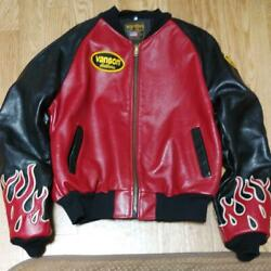 Vanson Riders Jacket Order Items Fire Line Size Xlll