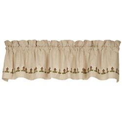 Ol' Outhouse Window Valance, Country House, Primitive Bathroom, 72 X 14, New