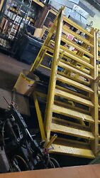 Commercial Industrial Staircase On Wheels