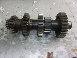 John Deere B Transmission Countershaft With Gears Fits Unstyled And Early Styled