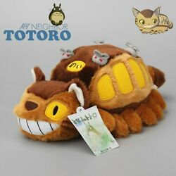 12in. My Neighbor Totoro Cat Bus Plush Doll Soft Toy Stuffed Doll Christmas Gift $11.95