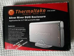 Thermaltake Sliver River Duo Enclosure P/n A2395 Application For 3.5 Ide And Hdd