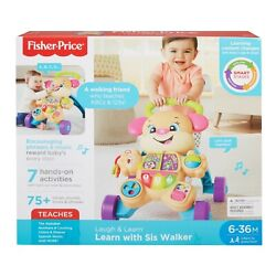 Fisher-price Laugh And Learn Smart Stages Learn With Sis Walker 6-36 Months New