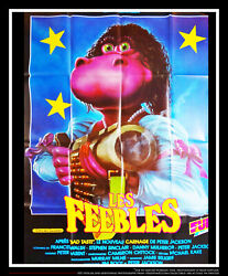 Meet The Feebles Peter Jackson 4x6 Ft French Grande Original Movie Poster 1989