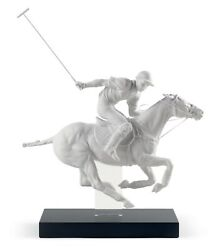 Lladro Polo Player Figurine. Limited Edition 01008719 Gift For Men