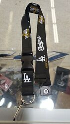 LA Dodgers los 2020 World Series Champions Lanyard