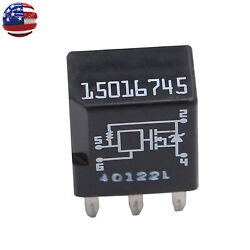 Headlight A/c Relay 15016745 Fit For Gm Trailblazer Buick Gmc Fuse Module Tested